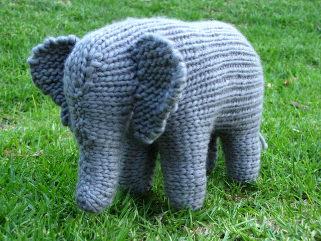 Large Elephant Knitting Pattern : Mushrooms and my Book Update - Natural Suburbia