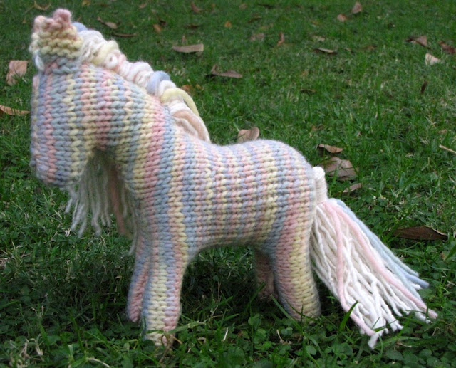 Knitting Pattern Toy Horse : Horse Knitting Pattern is in the Shop! - Natural Suburbia
