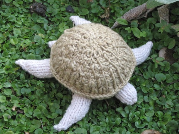 Turtle Knitting Pattern - Natural Suburbia