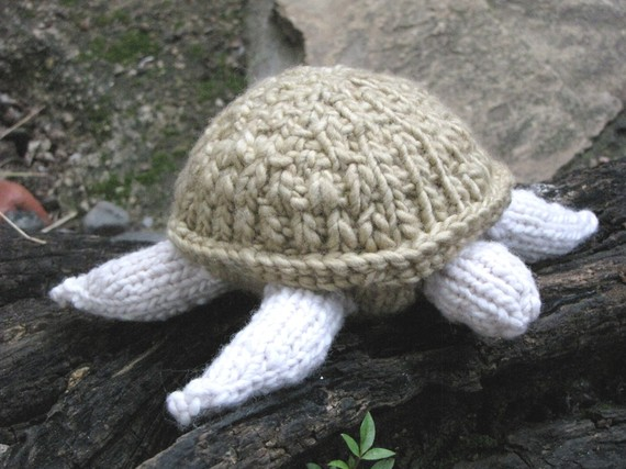 Trapper Hat Knitting Pattern : Turtle Knitting Pattern - Natural Suburbia