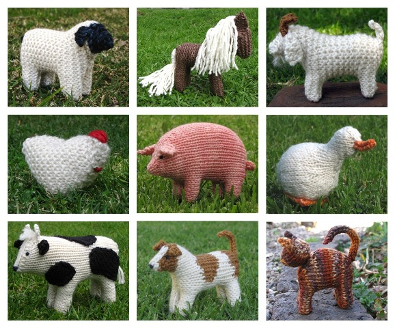 Free Animal Knitting Patterns : Book Archives - Natural Suburbia