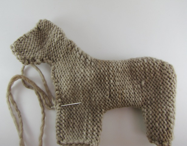How To Stuff And Shape A Waldorf Inspired Knitted Toy Animal A