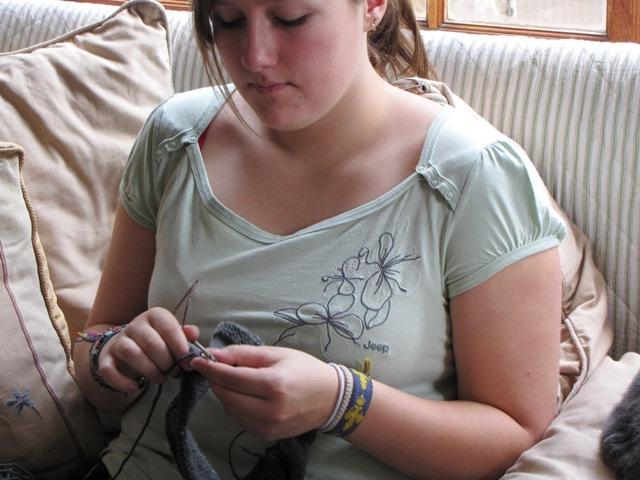 Autumn Jen Knitting
