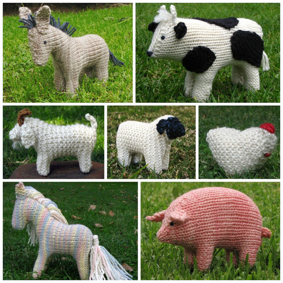 Animal Knitting Patterns Free : Creative Friday and a Giveaway - Natural Suburbia