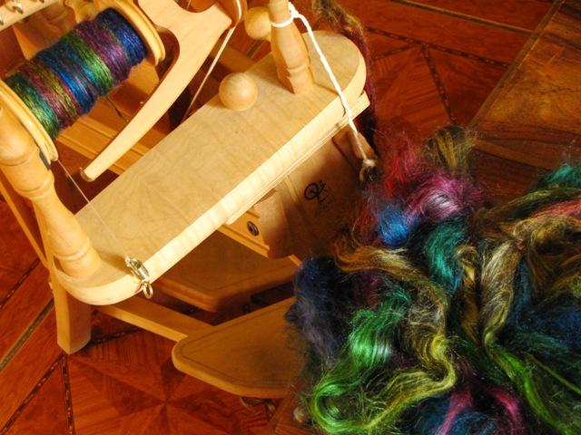 LlamaSilk Spinning