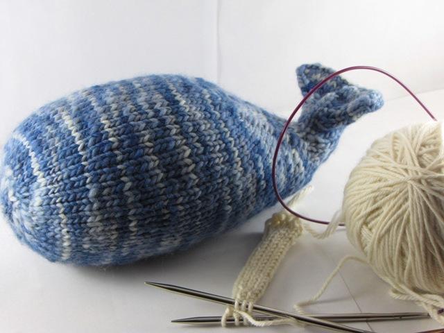 Knitting A Narwhal Natural Suburbia