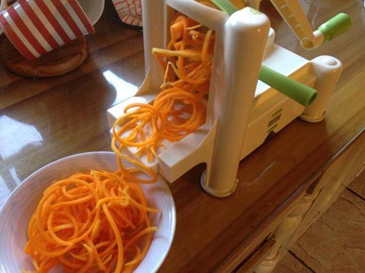 Spiral-Cut Butternut spaghetti