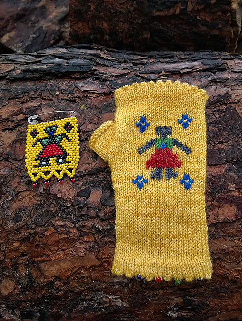 CApe African Fingerless Gloves