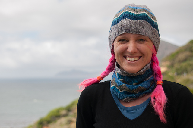 Cape Point Cowl and Hat Sally Cameron