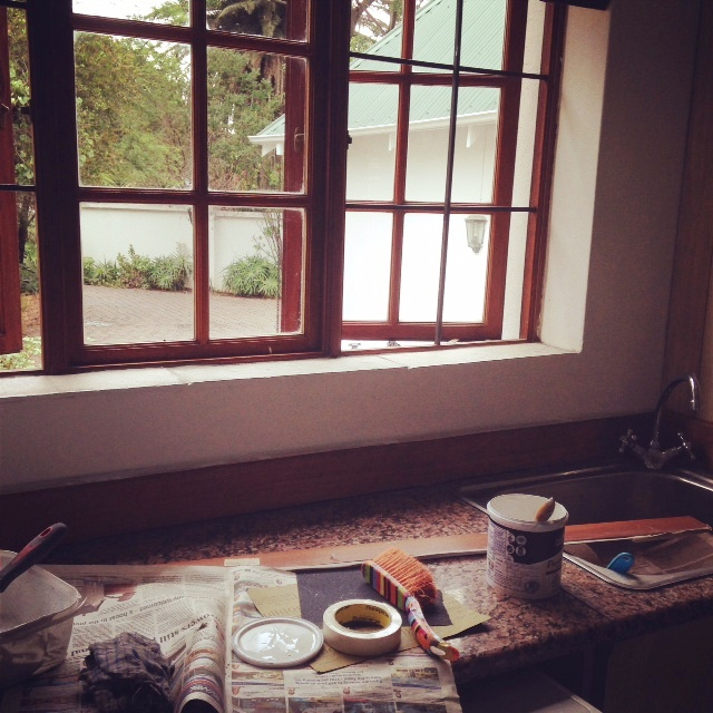 painting scullery