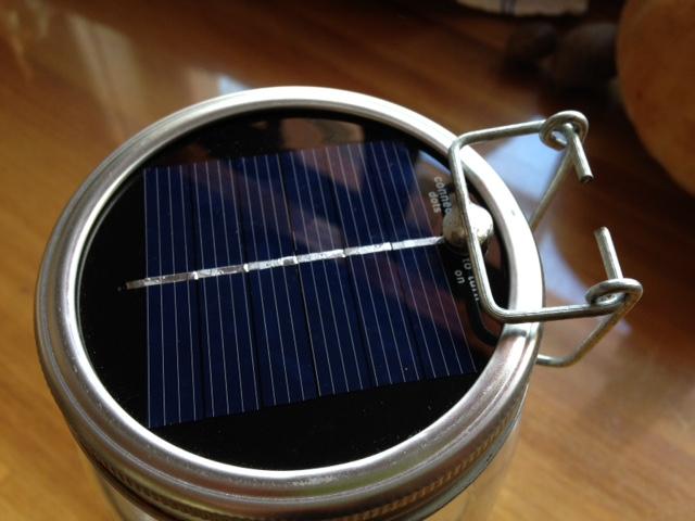 Consol Glass Solar Light