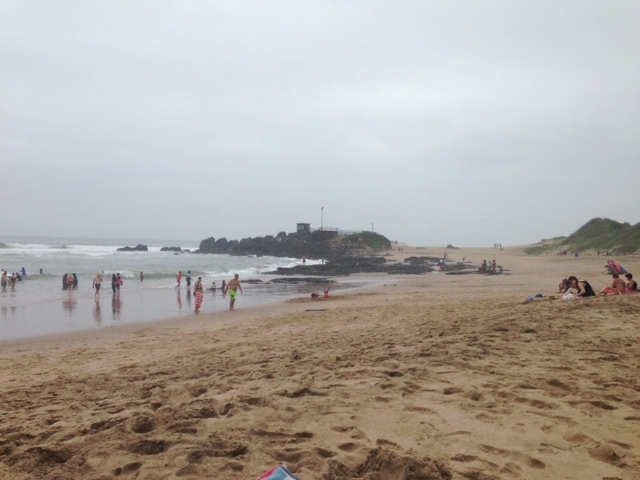 Rainy Winkelspruit Beach