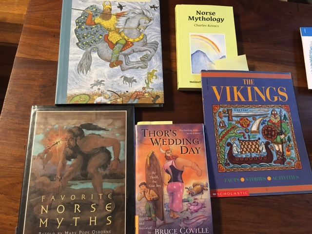 Norse Myths Books Waldorf grade 4