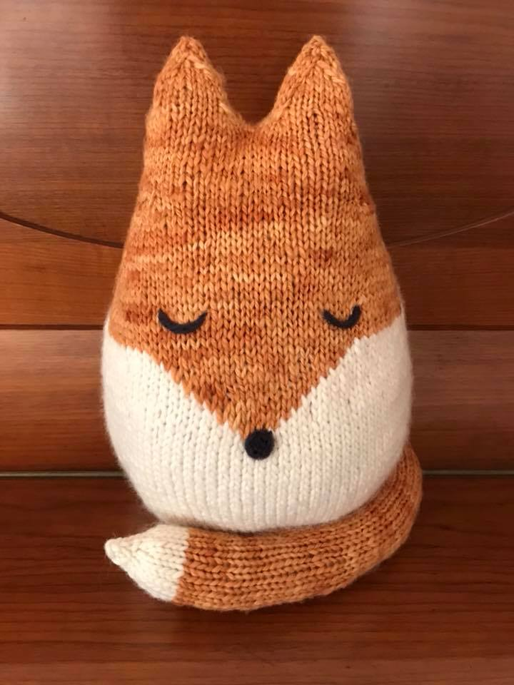 48e2dfdef42 Felix the Fox Knitting Pattern - Natural Suburbia
